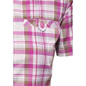 axant Alps Chemise Agion Active Femme, violet/grey check